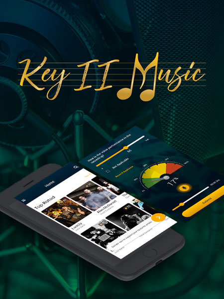 key ii music ios app development